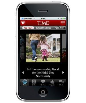Time.com Mobile