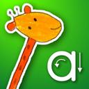 かわいいイラストを収録 楽しみながらアルファベットを学べる知育アプリ Iwritewords