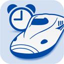 東海道新幹線の進行にあわせて沿線の風景 名物をイラストで表示する Ex Alarm
