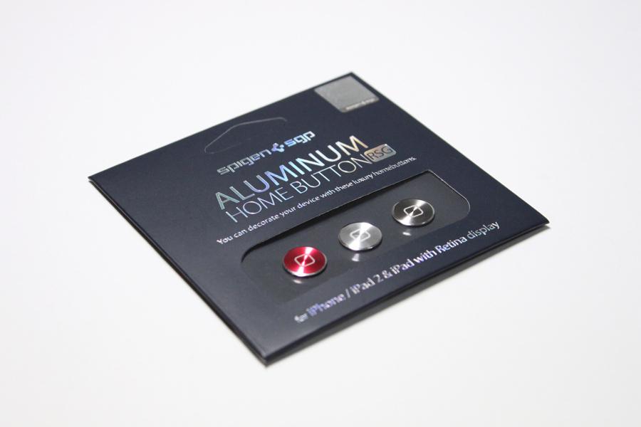 【レビュー】人気の高級アルミ製ホームボタン・シールの新色『Aluminum home button for iPhone & iPad [RSG] 』