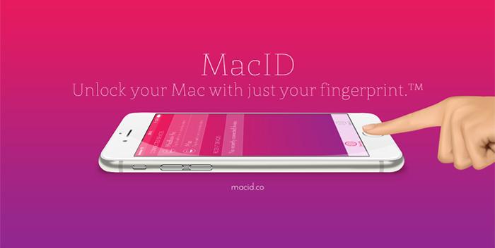 iPhoneの指紋認証でMacのロックを解除できるアプリ「MacID」