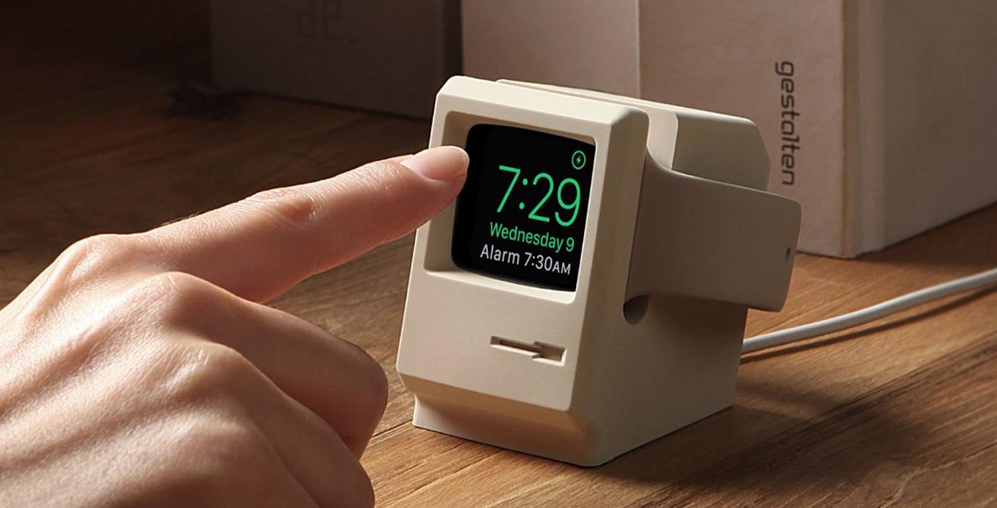 初期のMacintoshのような「Apple Watch用スタンド」
